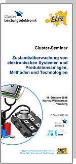 Cluster-Seminar: Zustandsüberwachung von elektronischen Systemen und Produktionsanlagen, Methoden und Technologien