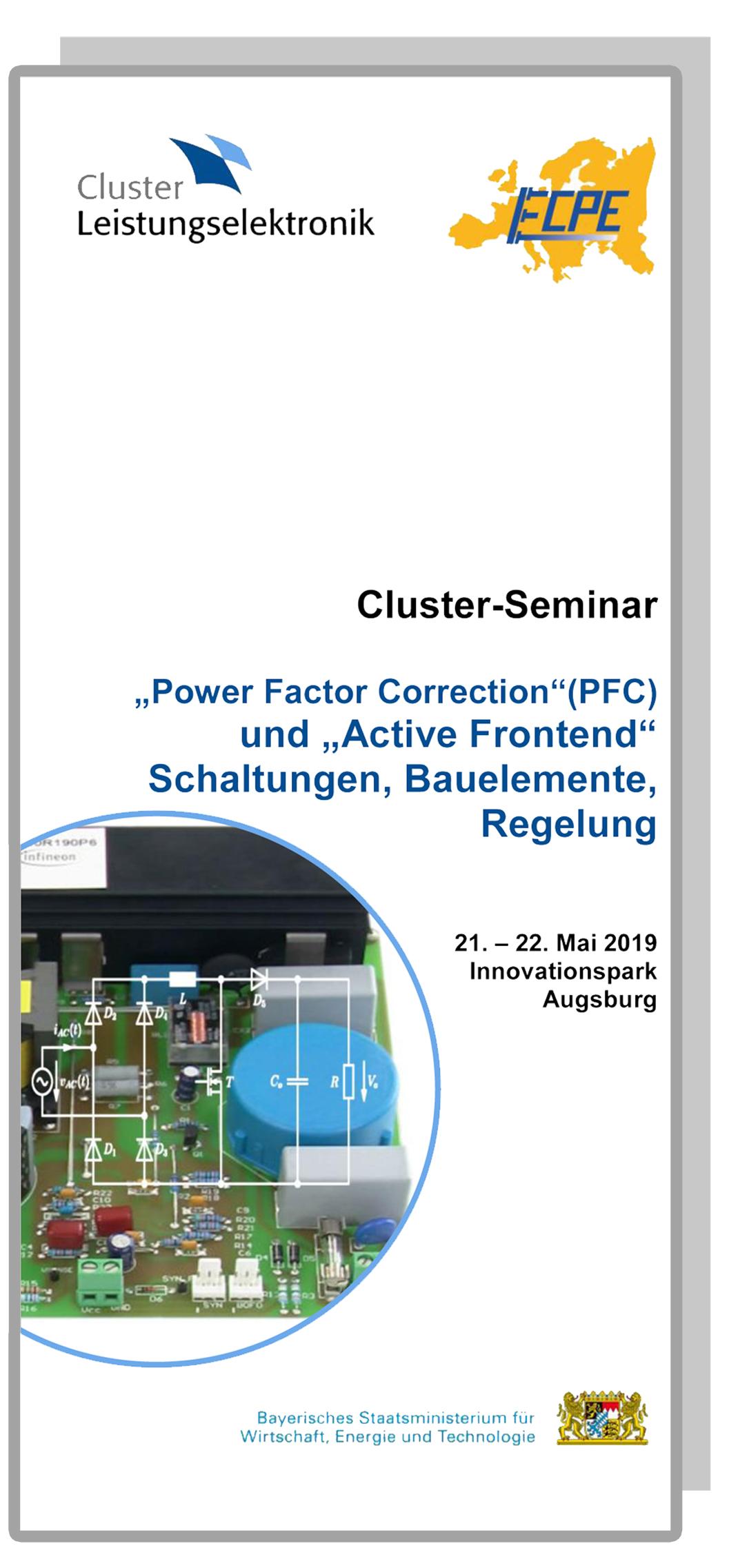 Cluster-Seminar: Power Factor Correction - PFC